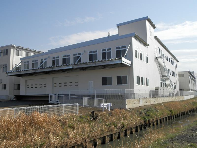 ファッションクロスフルシマ工場棟